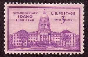 Idaho Stamp