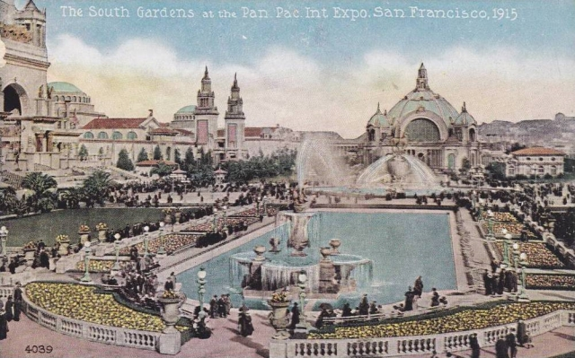 Panama-Pacific Exposition, Vintage Postcard