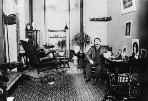 Dr. Jacob Levy in his office, 1900, San Francisco. #WS2021