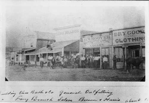 Dodge City, Old Postcard