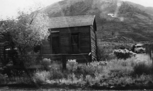 Existing building on Anna Mark's property in Eureka, Utah, #WS1293