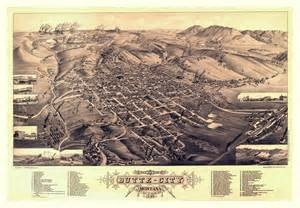 Antique Map of Butte, Montana, #WS5438