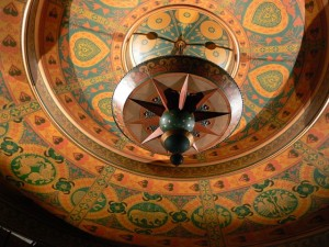 Martin Beck Theater Ceiling