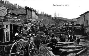 Street scene-Deadwood,SD. [1876], #WS0237