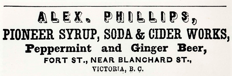 Phillips Syrup & Soda Adv, Victoria (photo-JMABC)
