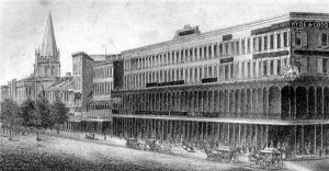 Touro Buildings in Early New Orleans