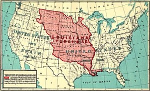 Early Map of the Louisiana Purchase