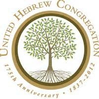 United Hebrew Congregation's 175 year Logo, 2012