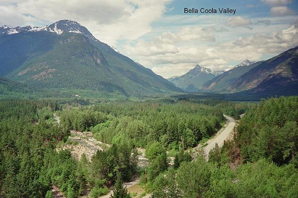 Bella Coola Valley Post Card