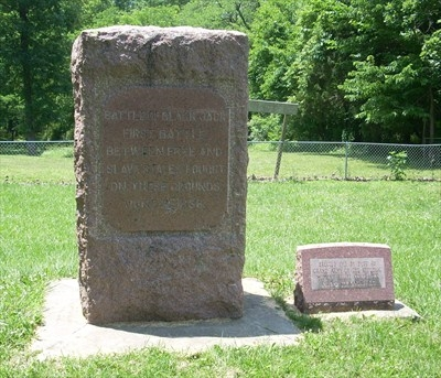 Monument for the Battle of Black Jack