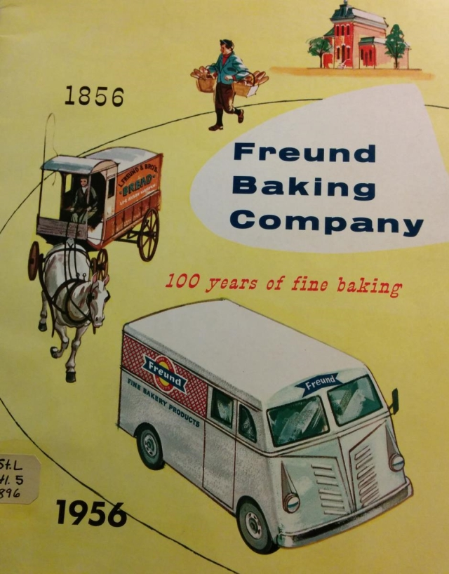 Freund Baking Co. Adv 100 years.