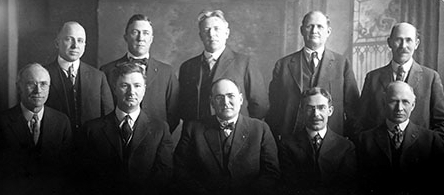 First City Council of Anchorage, Ike Bayles is seated 2nd from right.