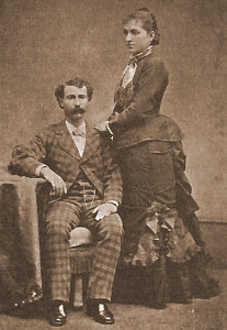 Henry and Mary Joseph Levy, 1870's, Independence, CA