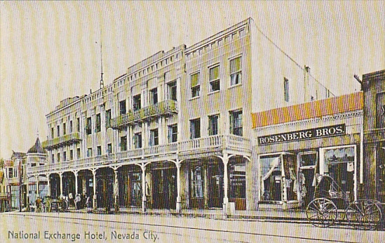 Nevada City, CA, 1910