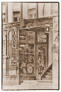 Typical Cigar Store in the 1890's, Vintage Postcard