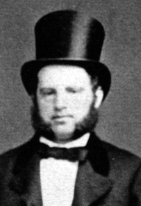 August Helbing as a young gentleman.