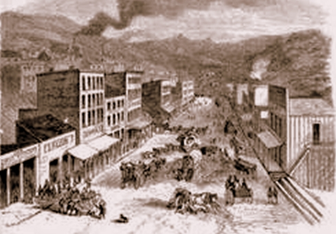 Virginia City, Nevada, Mid-1860's