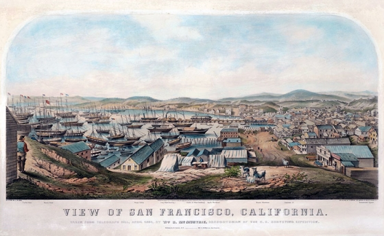San Francisco Bay 1850