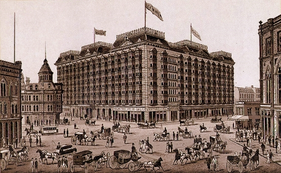 Palace Hotel of San Francisco, circa 1900