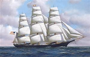 Traveling to Hawaii by Clipper Ship