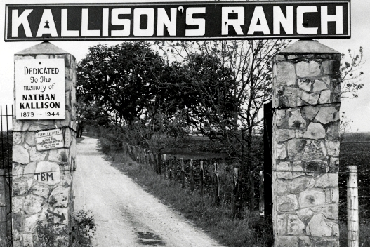 Kallison Ranch Entrance