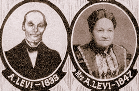 Alexander & Minette Levi honored during the 175th Annivarsary of the City of Dubuque