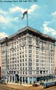The Newhouse Hotel, vintage postcard