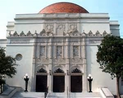 Temple Beth El of San Antonio, it's 3rd building.