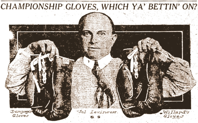 Levinson Boxing Gloves Adv.