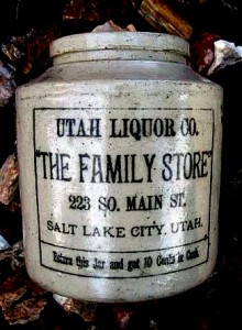Utah Liquor Store Jug by Jake Bergerman