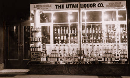 The Utah Liquor Store of Jack Bergerman, Salt Lake City