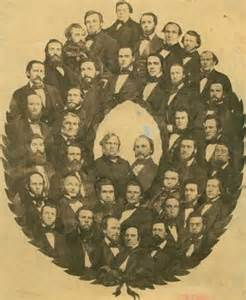 Members of the 1857 Constitutional Convention
