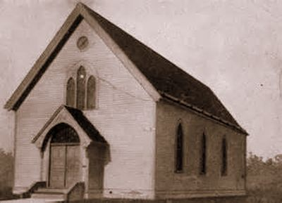 Mt. Zion Congregation's first building